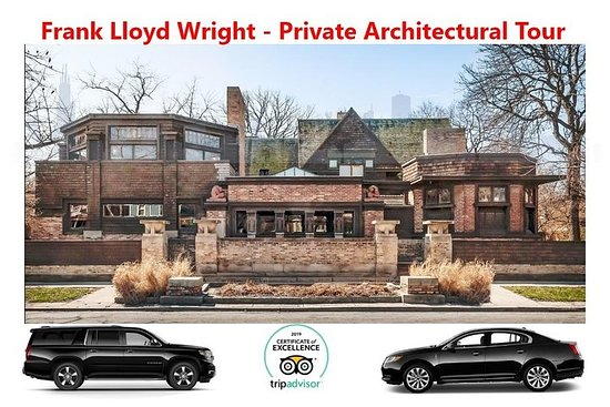 Frank Lloyd Wright Architectural Tour - Private Luxury Vehicle - All...