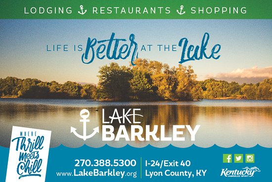 Kuttawa, KY: Life is Better at the Lake - Lake Barkley/Lyon County Kentucky that is! Come see for yourself, it won't disappoint! We live it, you'll love it!