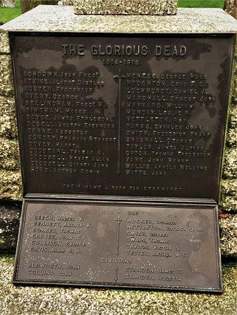 11.  Biddenden War Memorial