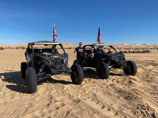‪‪America's Extreme Off-Roading Adventures‬: Taking a break at Glamis with AXA‬