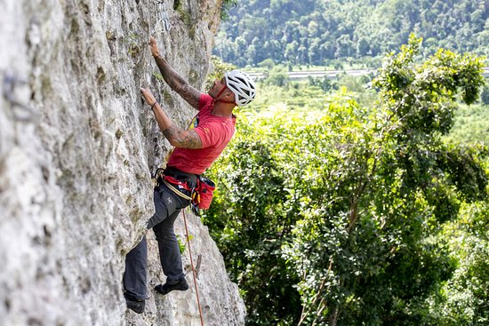 Cayey, Puerto Rico: Roca Norte offers a beautiful mountain setting for rock climbing, panoramic views and climbing routes for beginners and more experienced climbers  (Photo: Dilbert Lozada Photography)
