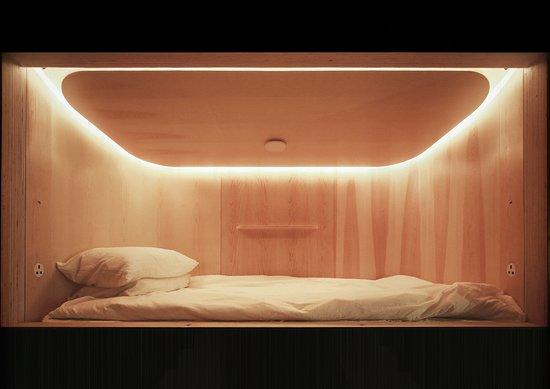 SLEEEP capsule interior