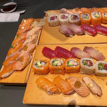 Kleines Sushi Restaurant...