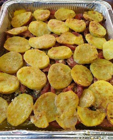 Patate pomodori carciofi