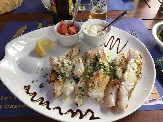 Frischer Fisch auf den Tisch