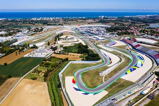 Misano Adriatico, Włochy: Le vie di fuga di Misano World Circuit