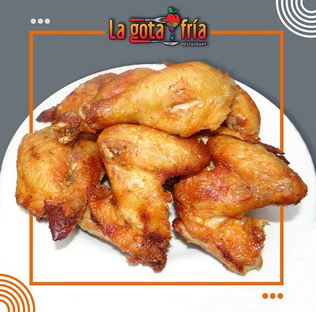 The weekends are for sharing, in La Gota Fria you can enjoy our different flavors with your family, come and try it !! 😊🍗