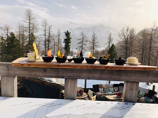 Toerbel, Suiza: Dessertplatte
