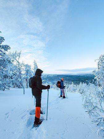 Snowshoeing at Pyhä Luosto National Park