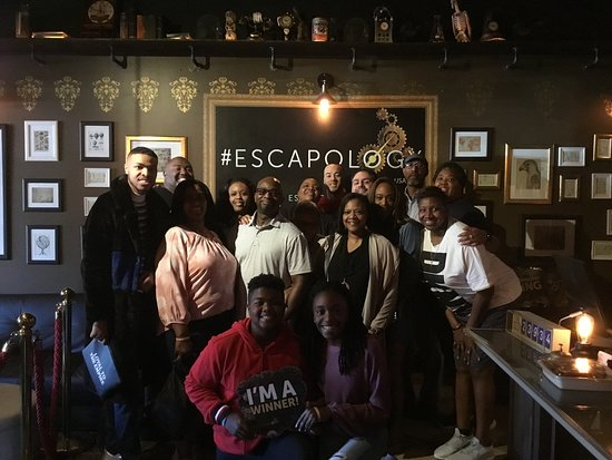 Escapology: Budapest Express Escape Room in Orlando: Family Fun - Winners!!