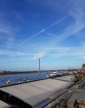 Nice views from Rheinuferpromenade.