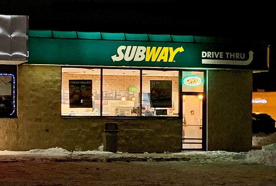 Subway in East Grand Forks...