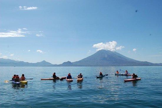 Pédale et pagaie Lake Atitlan de 2...