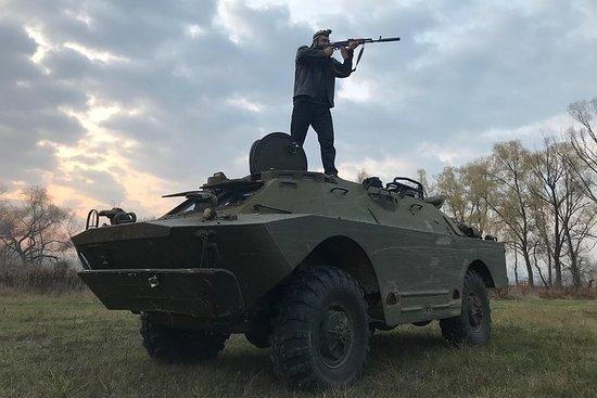 Kiev BRDM-2 Tankekjøring og skyteopplevelse