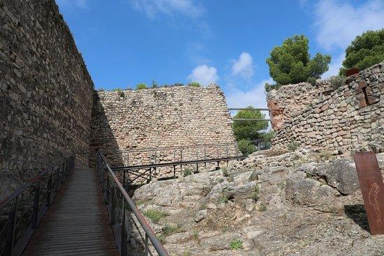 Gelida, Spanien: Horní vstup