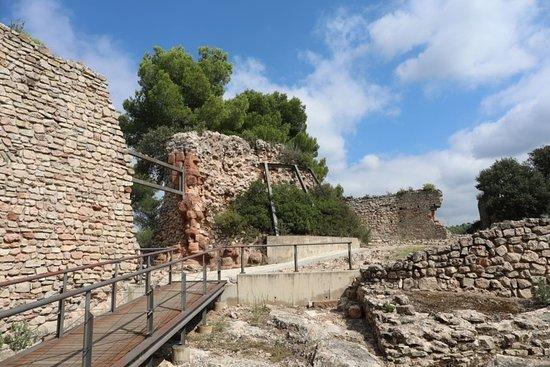Gelida, Spanien: Brána do horního hradu