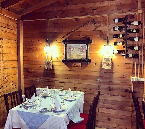Vladimir, Karadağ: photos from inside the restaurant