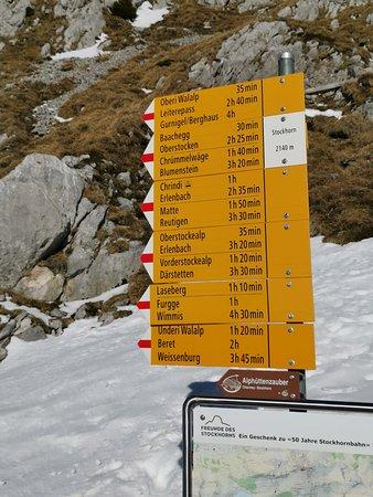 Erlenbach im Simmental, Suiza: Wandermöglichkeiten
