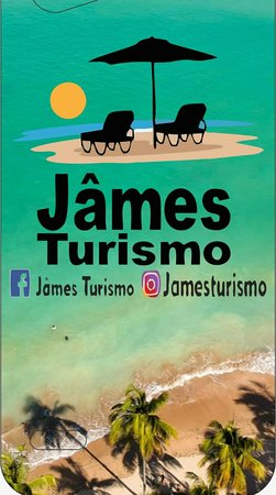Venha conhecer o Paraíso, venha com o Jâmes Turismo.