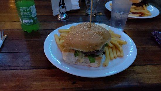 Burger for diner