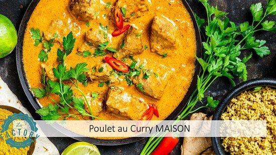 Notre Poulet au curry