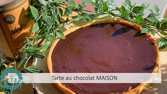 Notre tarte au chocolat MAISON