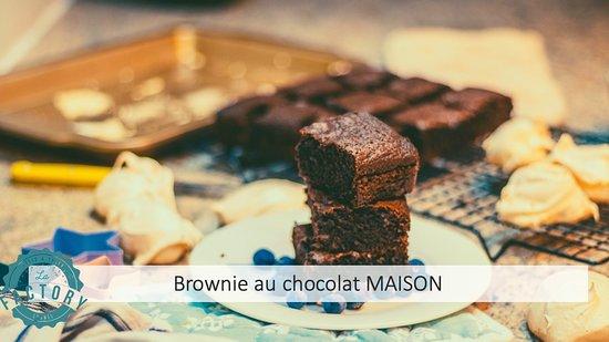 Nos Brownies au Chocolat MAISON