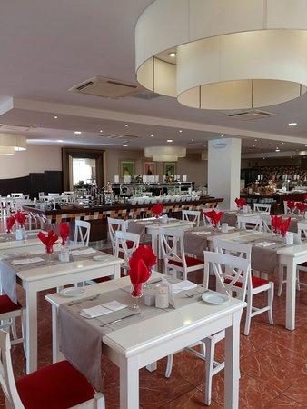 Restaurante Amaltea. Para desayuno, comida y cena.
