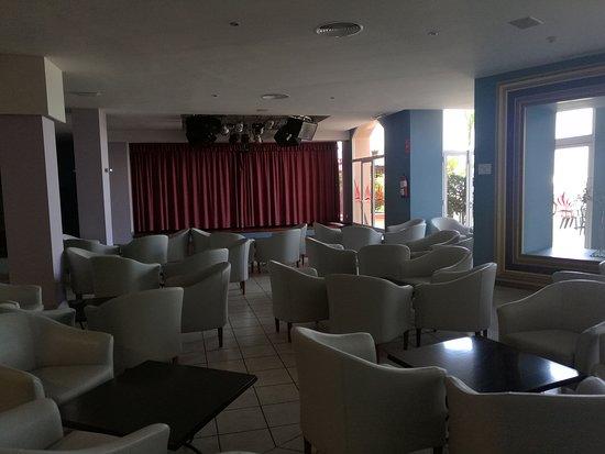 Escenario del Bar Vulcano donde se celebran las actuaciones