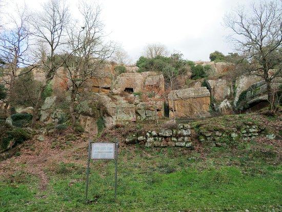 Necropoli di Norchia 사진