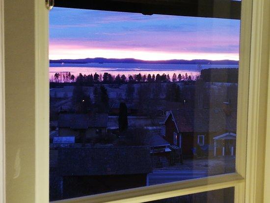 Vikarbyn, Sweden: Utsikt från ett av rummen