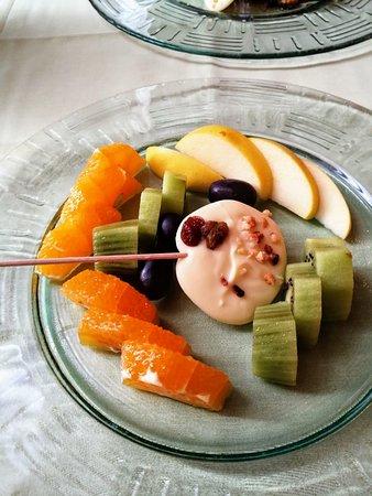 Postre de fruta natural.