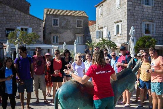 Fra Makarska Riviera: To Islands Båttur med fiskpiknik