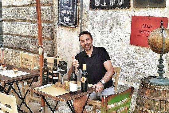 Reiche Verkostung von Salento-Weinen