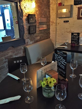 5.  No. EIGHT Restaurant, Hastings, East Sussex