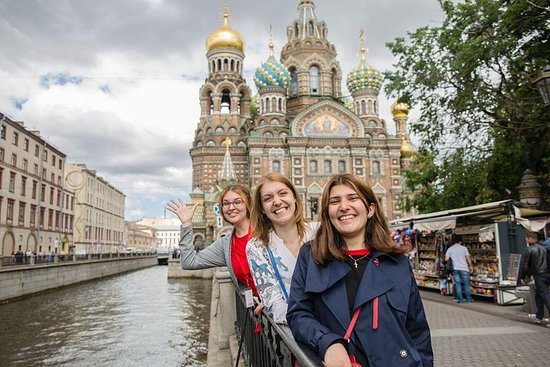サンクトペテルブルクウォーキングシティツアー