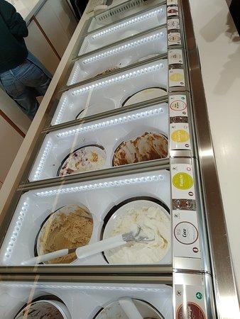 BICO de Xeado: ristra de helados
