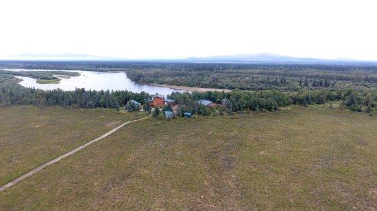 Iliamna, AK: The Lodge