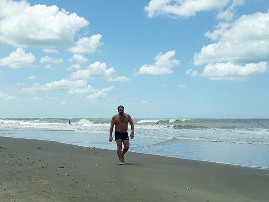 Mar de Cobo, Αργεντινή: Playas amplias