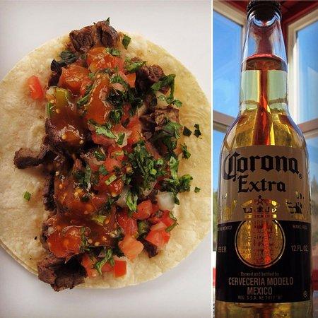 Blue Jay, CA: Tacos y Cerveza!