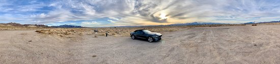 Alamo, NV: Panorama of the location. Honestly, it does not do the beauty and desolation of this place justice.