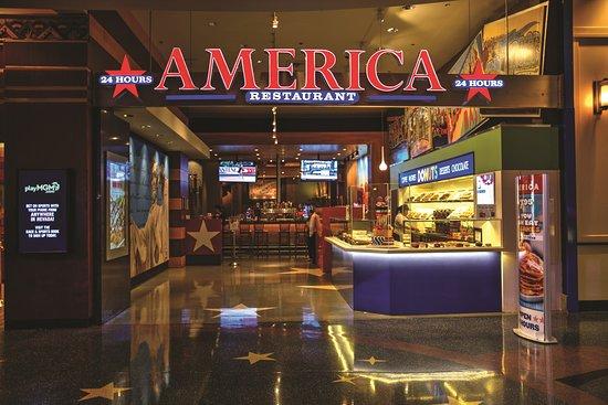 America At New York Las Vegas