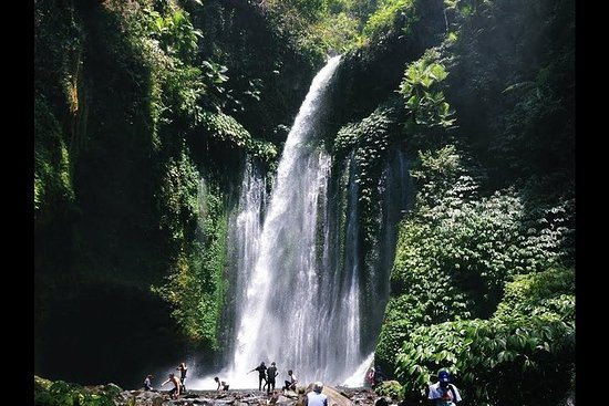 Partage d'une journée à North Lombok