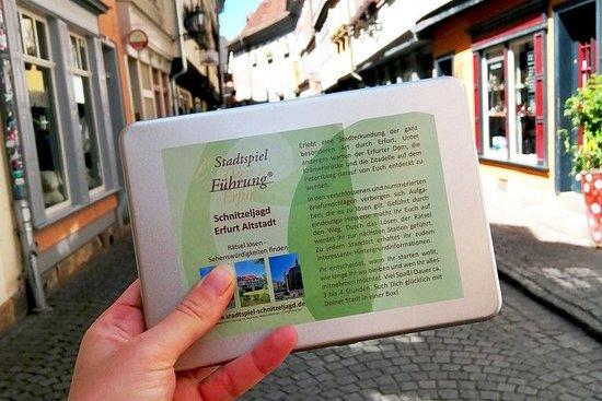 Spannende Schnitzeljagd durch Erfurt