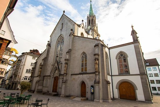 Architektonischer Spaziergang von St. Gallen mit einem Einheimischen