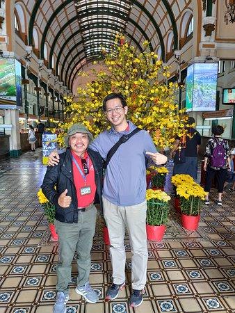 Mr. Typhoon Honey and I