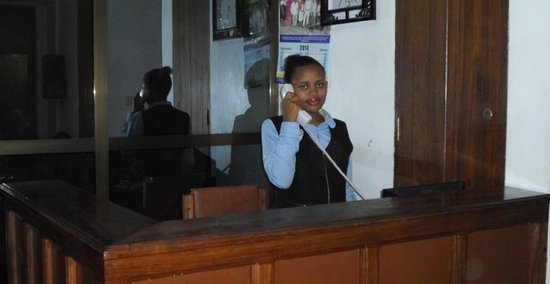 Dar Es Salaam Region, แทนซาเนีย: Our 24 hr front desk is more than ready to serve you!