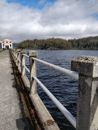 View of Pumphouse along the jetty