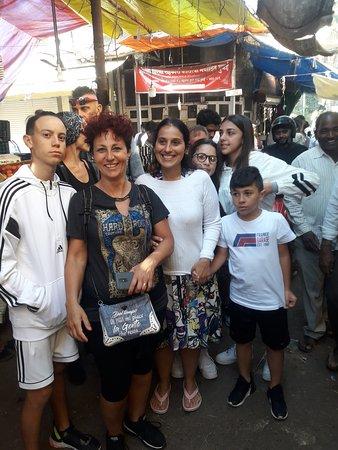 Mumbaí (Bombaj), Indie: Mumbai slum tour Dharavi biggest slum in Asia