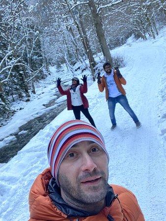Bakuriani Borjomi trip with first snow